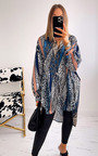 Sophie Oversized Print Blouse Thumbnail