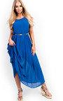 Sorcha Pleated Maxi Dress Thumbnail