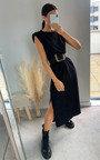 Steff Sleeveless Midi Dress Thumbnail