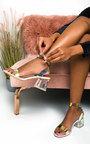 Steffi Perspex Block Heels Thumbnail