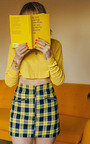 Stella Zipped Checked Skirt Thumbnail