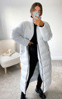 Steph Padded Longline Puffer Jacket Thumbnail