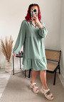 Storm Tiered Midi Dress Thumbnail