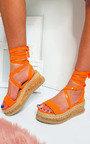 Suzie Cork Strappy Wedge Sandals Thumbnail