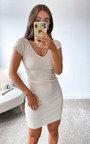 Sydney Knitted Bodycon Mini Dress Thumbnail