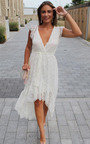 Sydney Lace Tie Waist Maxi Dress Thumbnail