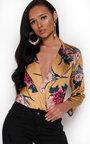 Talia Floral Bodysuit  Thumbnail