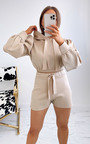 Talitha Cropped Hooded Co Ord  Thumbnail