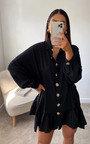 Tanya Oversized Frill Shirt Dress Thumbnail