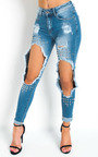 Tanya Studded Ripped Jeans  Thumbnail