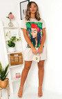 Tara Graphic Oversized T-Shirt Dress Thumbnail