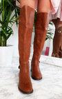 Tasha Buckle Knee High Boots Thumbnail