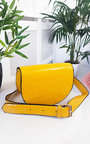 Tasha Faux Leather Croc Print Bum Bag Thumbnail