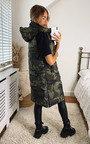 Tawni Camouflage Puffer Gilet Thumbnail