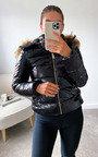 Tay Jacket with Faux Fur Hood Thumbnail