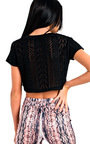 Taylah Cropped Knit Jumper  Thumbnail