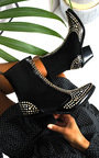 Taylor Studded Embellished Western Boots  Thumbnail