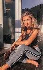 Tess Checked Side Stripe Trousers Thumbnail