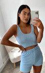 Tessa Fluffy Shorts & Top Co-ord  Thumbnail
