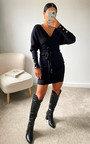 Tessa Knitted Bodycon Midi Dress Thumbnail
