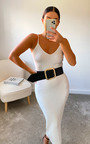 Tessi Knitted Bodycon Dress Thumbnail