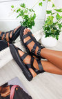 Tessi Strappy Flat Sandals Thumbnail