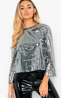 Thea Sequin Embellished Top Thumbnail