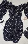 Tia Bardot Bodycon Dress Thumbnail
