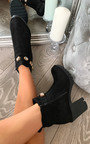 Tia Jewelled Ankle Boots Thumbnail