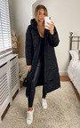 Tia Longline Hooded Puffer Jacket Thumbnail