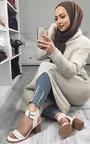 Tianah Double Strap Sandal Heel  Thumbnail