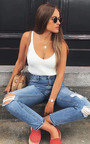 Tianna Knitted Crop Top Thumbnail