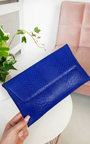 Tilda Faux Leather Envelope Clutch Bag Thumbnail