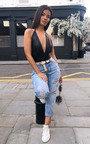 Tillie Distressed Denim Jeans Thumbnail