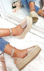 Tilly Studded Espadrille Wedge Sandal Thumbnail