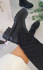 Tilly Quilted Knee High Boots Thumbnail