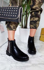 Tina Chain Ankle Boots  Thumbnail