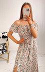 Tinsley Off Shoulder Floral Maxi Dress Thumbnail