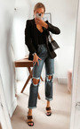 Toni Distressed Boyfriend Jeans Thumbnail