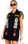 Toni Oversized Denim Jacket Dress Thumbnail