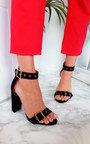 Tori Buckle Strap Sandal Heels Thumbnail