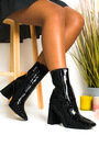 Trinny Block Heel Ankle Boots Thumbnail