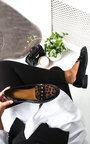 Tris Patent Flat Loafer Thumbnail