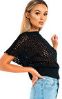 Trish Batwing Knitted Top Thumbnail