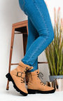 Trudy Lace up Ankle Boots  Thumbnail