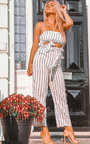 Trudy Stripe Wide Leg Culotte Co-ord Thumbnail