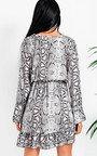 Tyla Printed Smock Dress Thumbnail