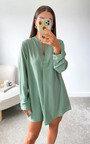 Ursa Oversized Shirt Dress Thumbnail
