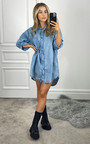 Valerie Denim Shirt Dress Thumbnail