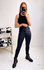 Vanessa Faux Leather Belted Trousers Thumbnail